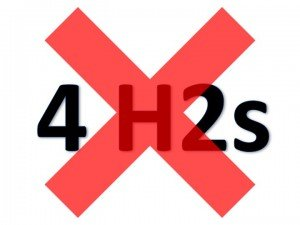 4 H2s