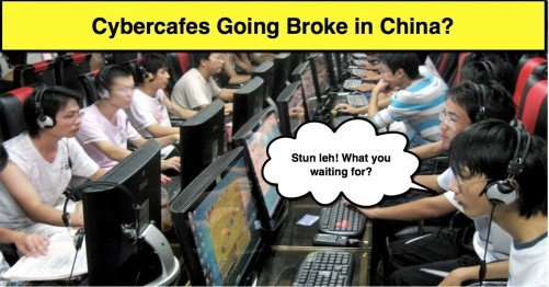 Economics Application China Cybercafe Losing Money - A Level Economics