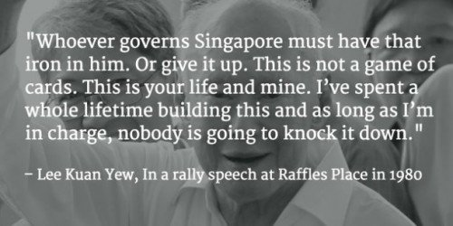 LKY Quote