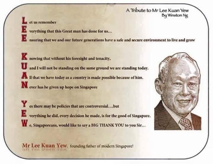Lee Kuan Yew's Economics Contribution to Singapore