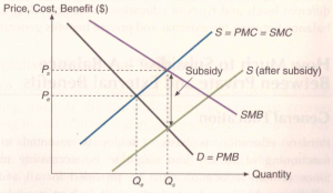 Subsidy Positive Externality - Ace Your Econs