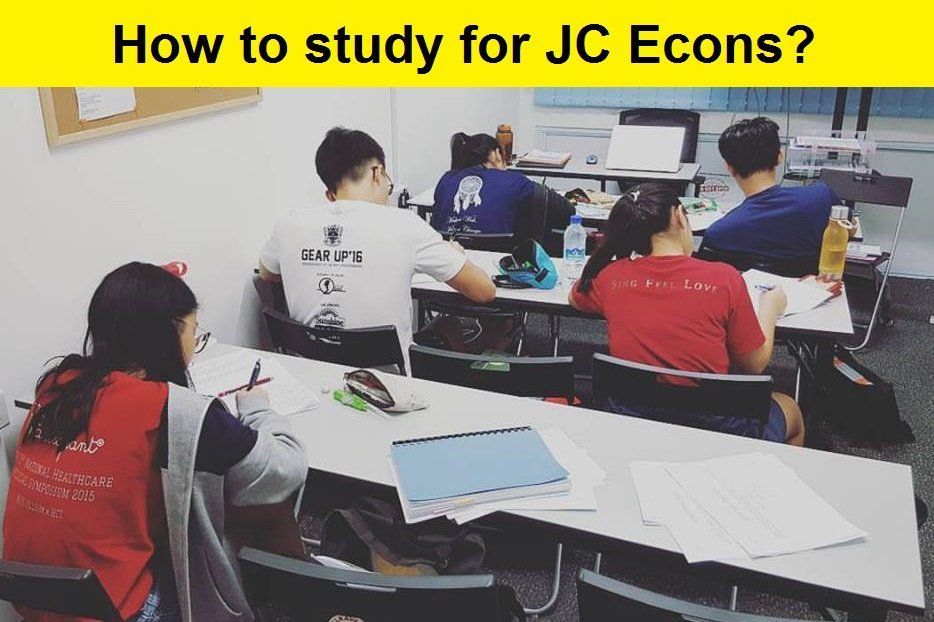 How to study for JC Econs